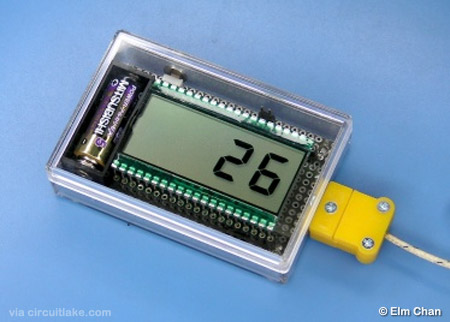 Thermocouple Temperature Meter