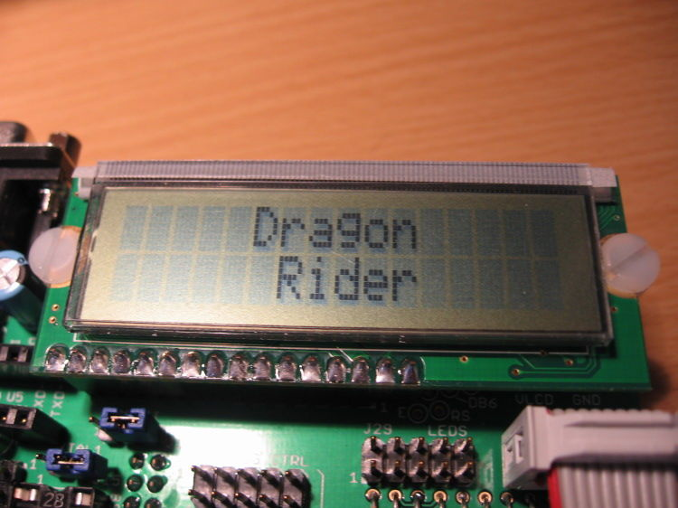 Using the LCD Add-on