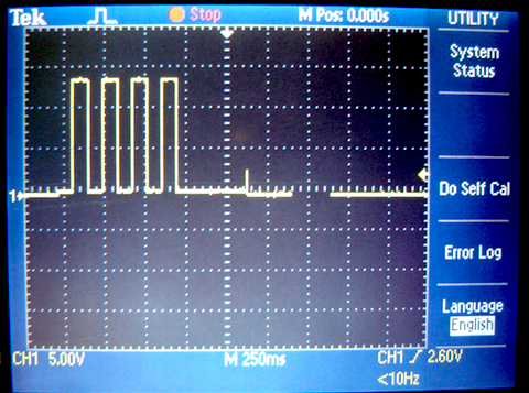 Voltage of Q2