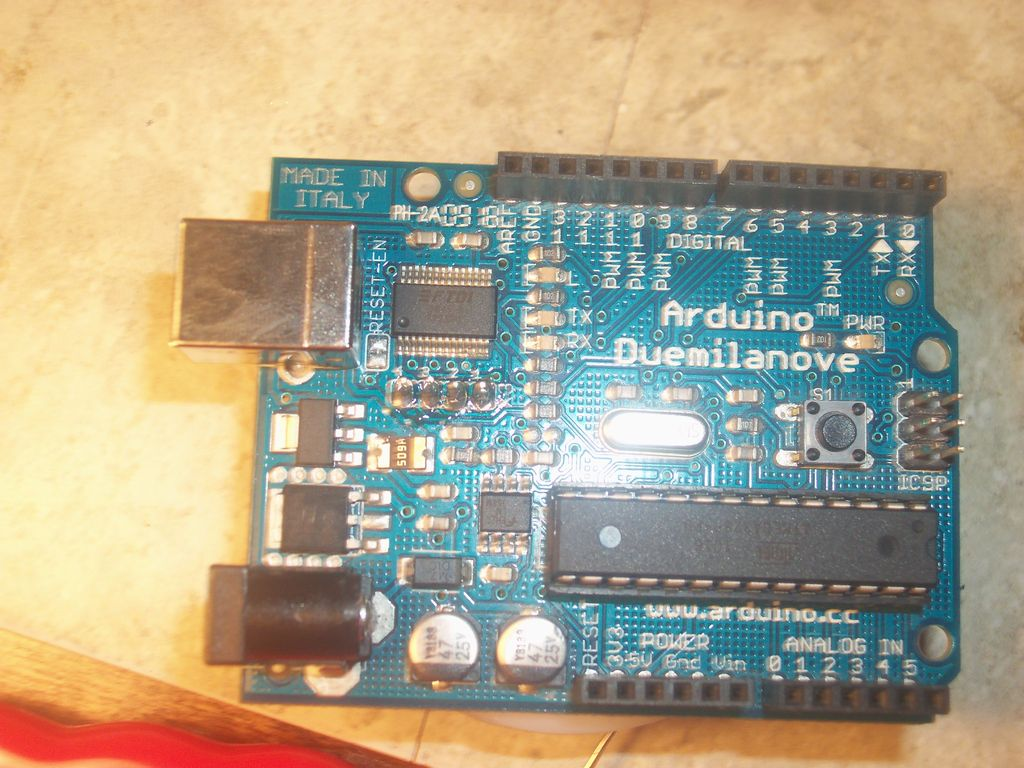 Programming Arduino Bootloader without Programmer using ATmega168 microcontroller