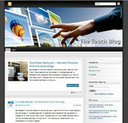 Touch Blog Promotes Discussion on Touch Technology and Market Trends