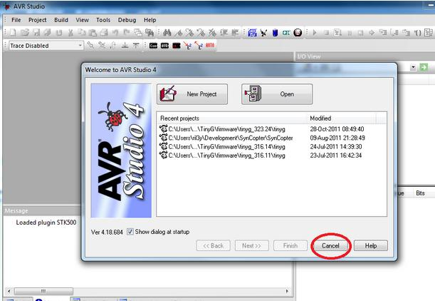 avr studio 4 screenshot