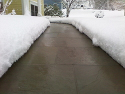 WARMZONE Promotes Heated Driveways to Battle the Miserable Snow Storms of 2011