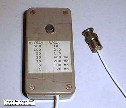 AC Current Probe for Oscilloscopes