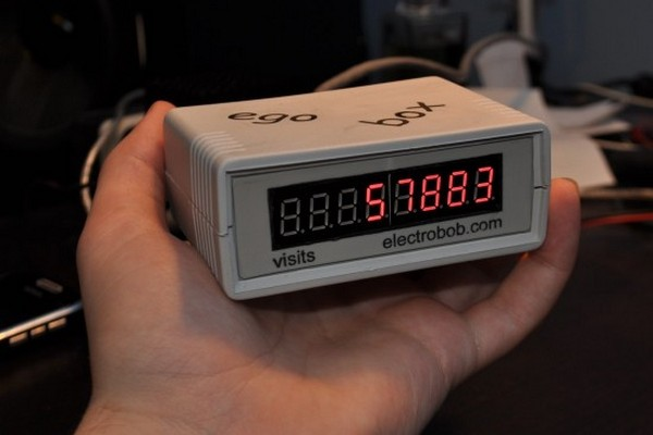 Turn your TV into a Digital Voltmeter using Atmel's AVR 90S1200 microcontroller