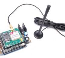 GSM GPS module shield for Arduino