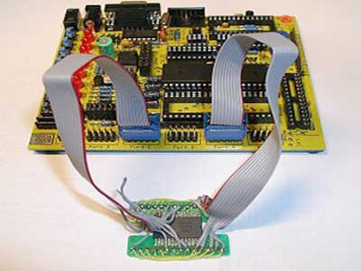 Ponyprog Circuit for AVR & PIC16F84 using microcontroller