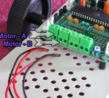PC Controlled Robot using ATmega32