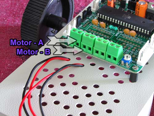 PC Controlled Robot using ATmega32