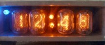 Nixie Clock with AVR using ATmega48 microcontroller