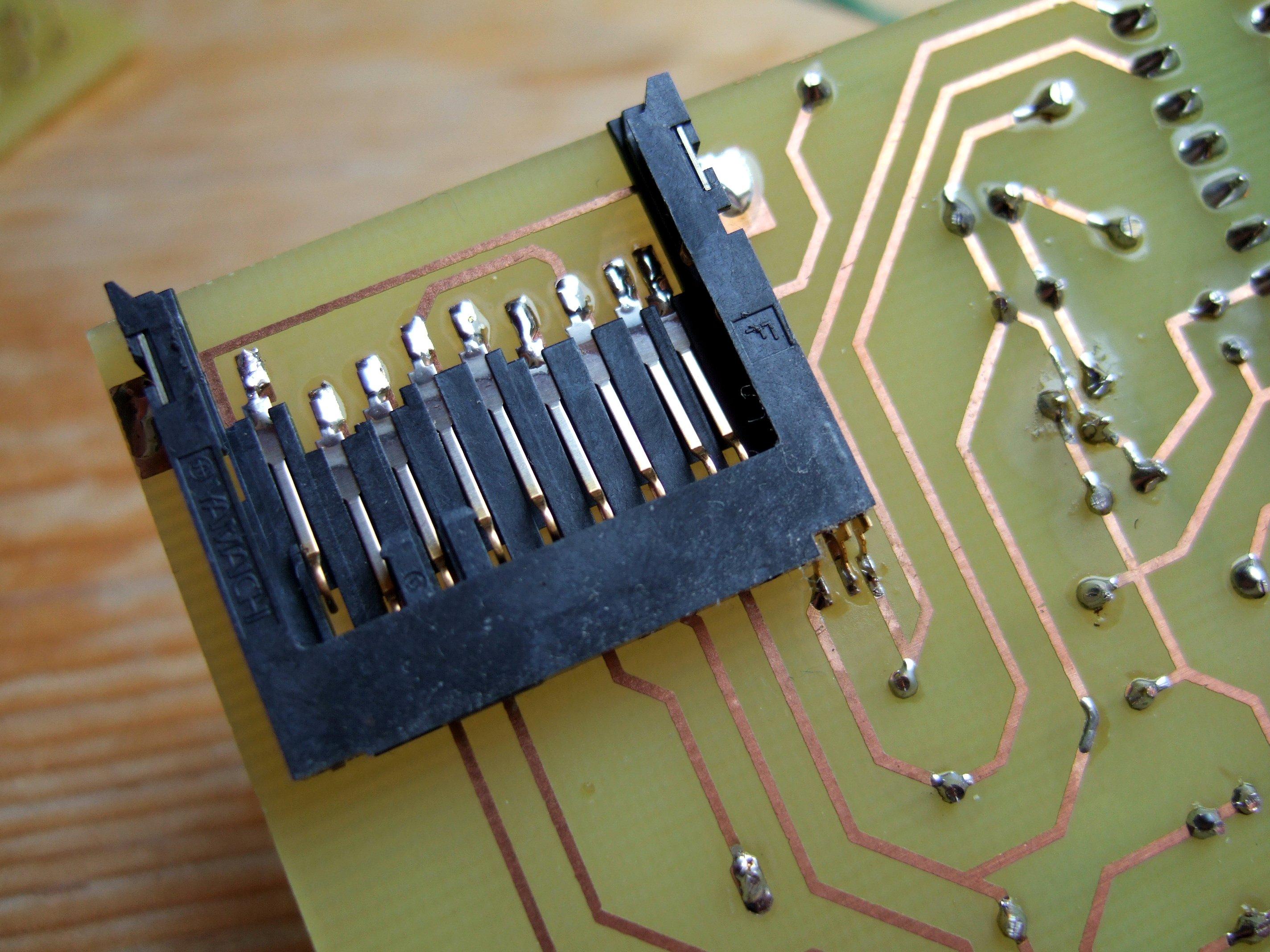 MMC/SD/SDHC card