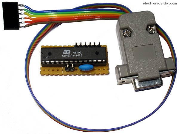AVR Programmer with ATMega8-16