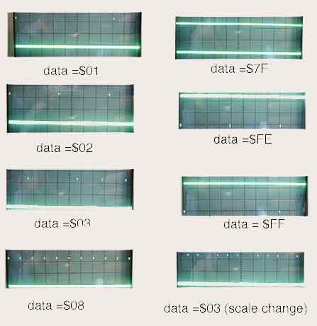 89C517 Segment Display using the Digital Time