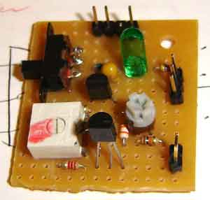 Simple LM335 Thermometer using microcontroller