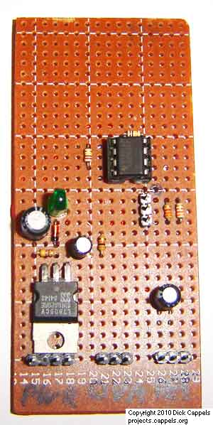 A 10 Bit LED Digital Panel Meter With Auto Ranging Based On The ATMEGA8