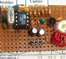 A Simple FM Stereo Transmitter using ATTINY12 microcontroller