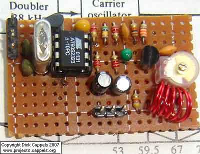 Simple FM Stereo Transmitter using avr