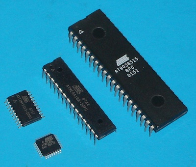 AttoBasic  HOME using Atmega168 microcontroller