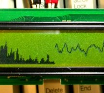 Audio Spectrum Monitor using S1D15200 microcontroller