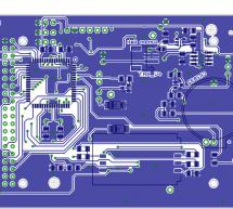AvrPhone using ATmega128 microcontroller