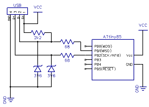 Barker Code-Locked Loop Synchronous Demodulator using ATtiny2313 microcontroller