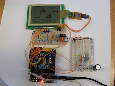 Interfacing Touch LCD