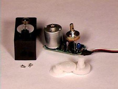 Servo motor control using Atmega8 microcontroller
