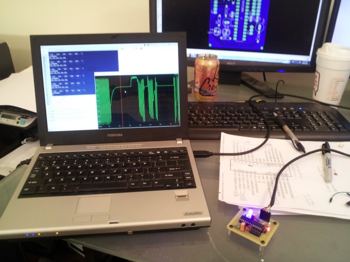 Multichannel USB Analog Sensor