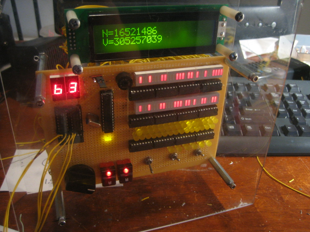 Prime Calculator is Complete using ATMega8 Microcontroller