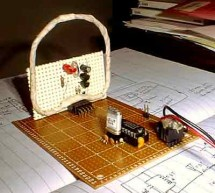1750 Meter Lowfer Band amplitude modulated RF source using ATtiny2313 microcontroller