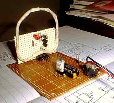 The oscillator board