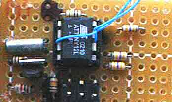 DS interface test tool using ATtiny2313 microcontroller