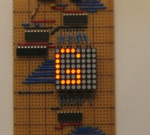 LED Matrix Display using TD62783 microcontroller