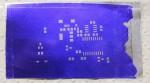 Home-made solder paste stencil