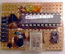 BUILD A SIMPLE SERIAL PROGRAMMER FOR AVR DEVICES using ATtiny2313 Microcontroller