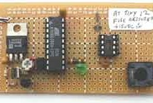 ATtiny12 fuse restorer using microcontroller