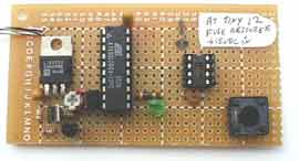 How to drive 595 shift registers with AVR hardware SPI using ATmega168 microcontroller