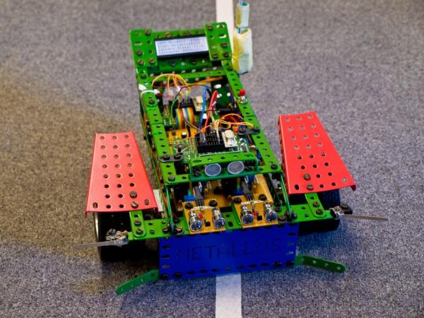 Remote Control based Robot using C language