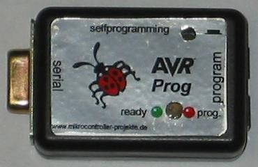 AVR Programmer using ATTINY2313 microcontroller