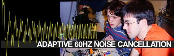 Adaptive Cancellation of Periodic 60 Hz Noise using ATmega32