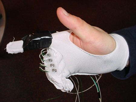Air mouse glove