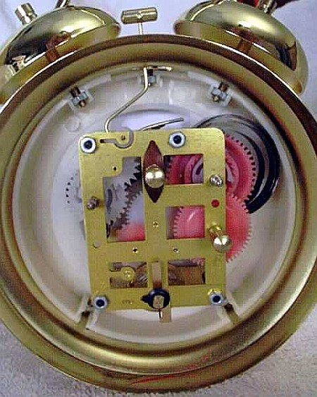 How Inside a Wind-up Alarm Clock
