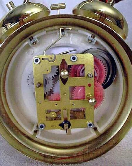 How Inside a Wind-up Alarm Clock