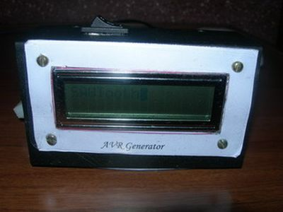 AVR DDS signal generator V1.0 using ATmega8