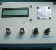 AVR DDS signal generator V2.0 using ATmega16