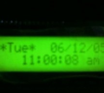 AT89C4051 to work as a Real time Digital clock