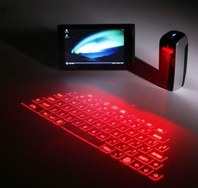 How Virtual Laser Keyboards Work