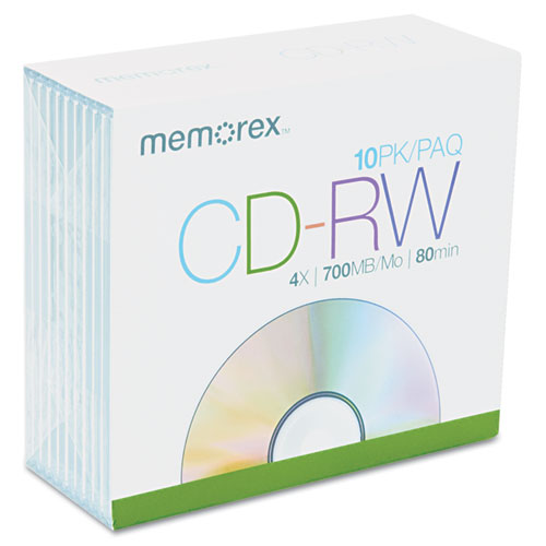 How do CD-RWs rewriteable CDs work?