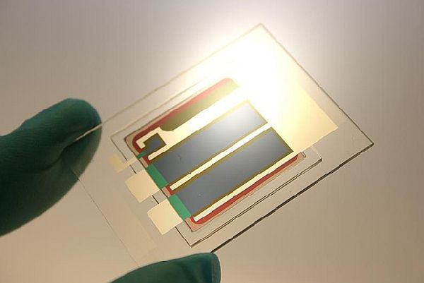 New world record for organic solar technology with a cell efficiency of 12%