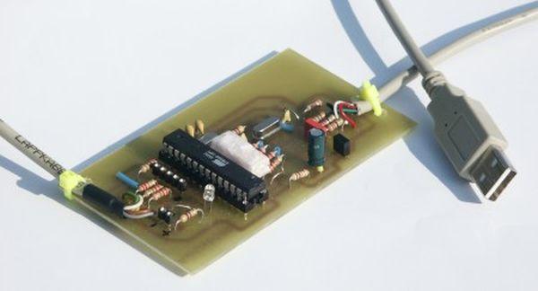 AvrUsb500 -- an open source Atmel AVR Programmer using ATmega8